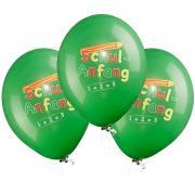 6 Latexballons Schulanfang ø33cm